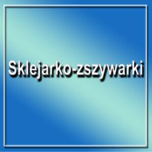 Sklejarko-zszywarki